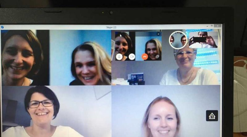 Vorstandssitzung des Musikvereins Guckheim via Skype am 07.05.2020
