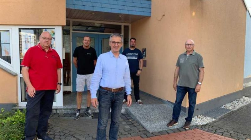 Besuch des Landtagsabgeordneten Hendrik Hering in Guckheim