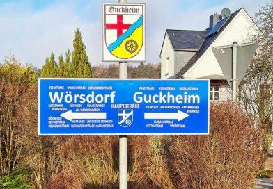 Guckheimer Ortsschilder