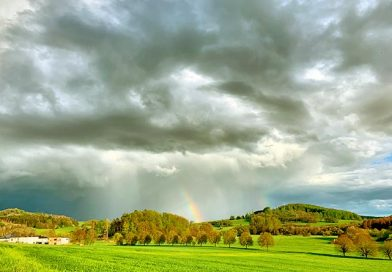 Regenbogen über Guckheim